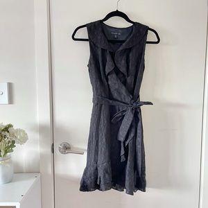 NEW Forever New Black Wrap Dress
